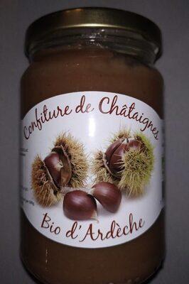 Confiture de châtaignes Bio d'Ardèche - Product