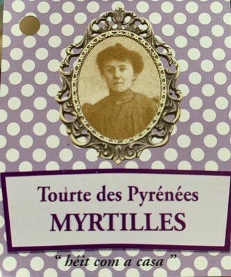 Tourte des pyrénées Myrtilles - Product - fr