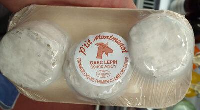 3 Fromages de chevre fermier au lait cru - Product - fr