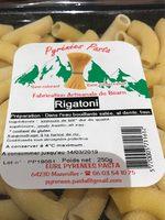 Rigatoni - Produit