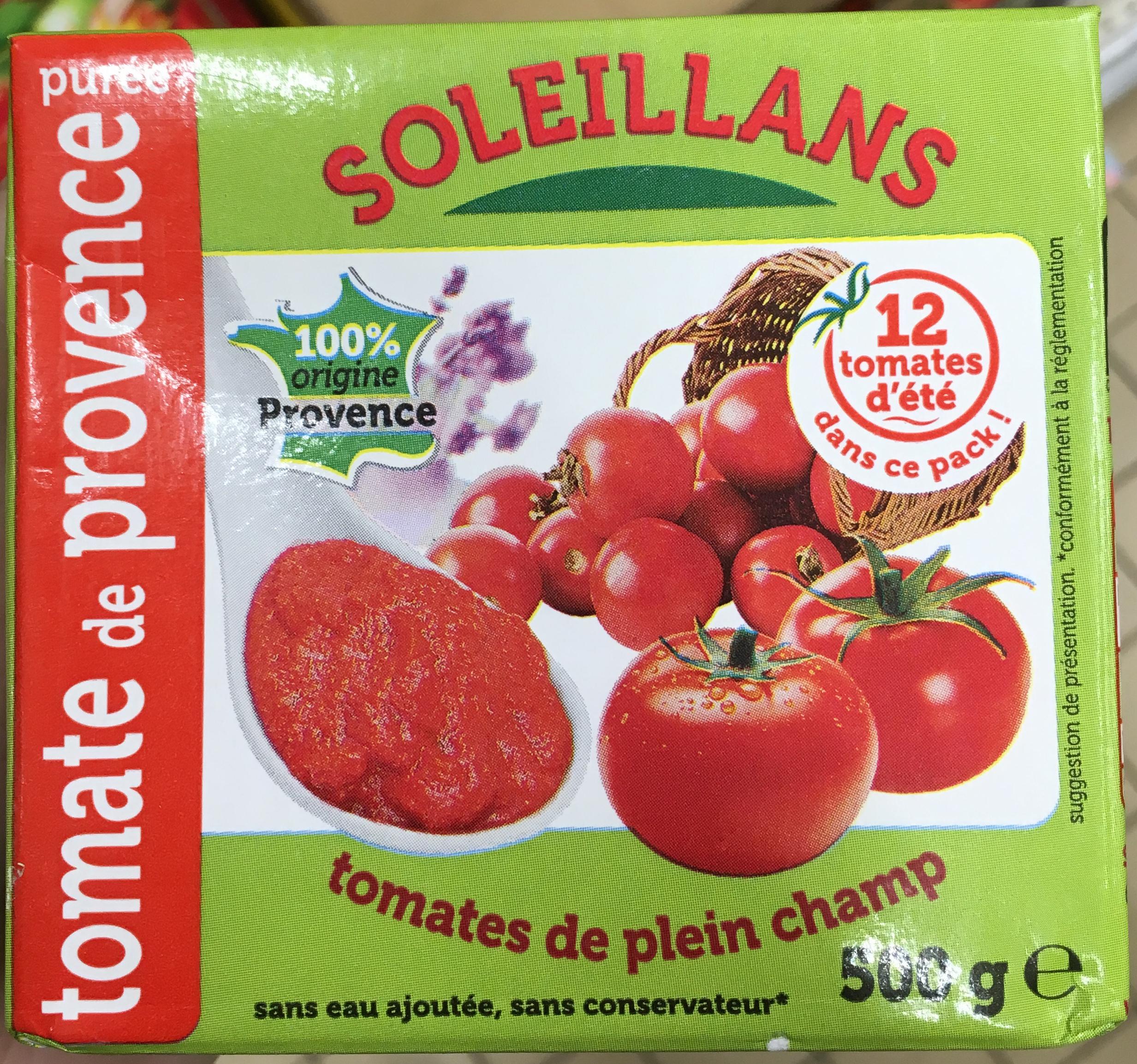 Purée de tomate de Provence - Produit - fr
