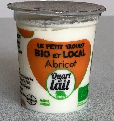 Le Petit Yaourt Bio et Local Abricot - Product