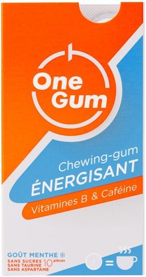 Chewing-gum energisant - Product