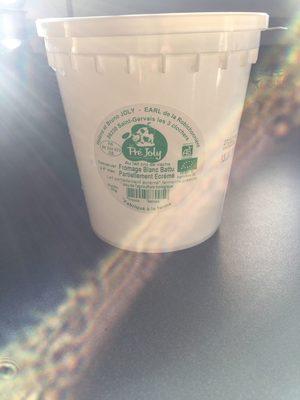 Fromage blanc battu partiellement écrémé - Product - fr