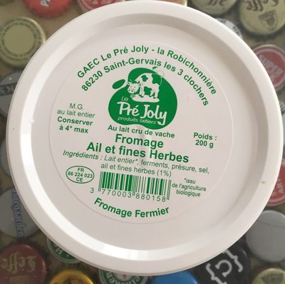 Fromage ail et fines herbes - Product - fr