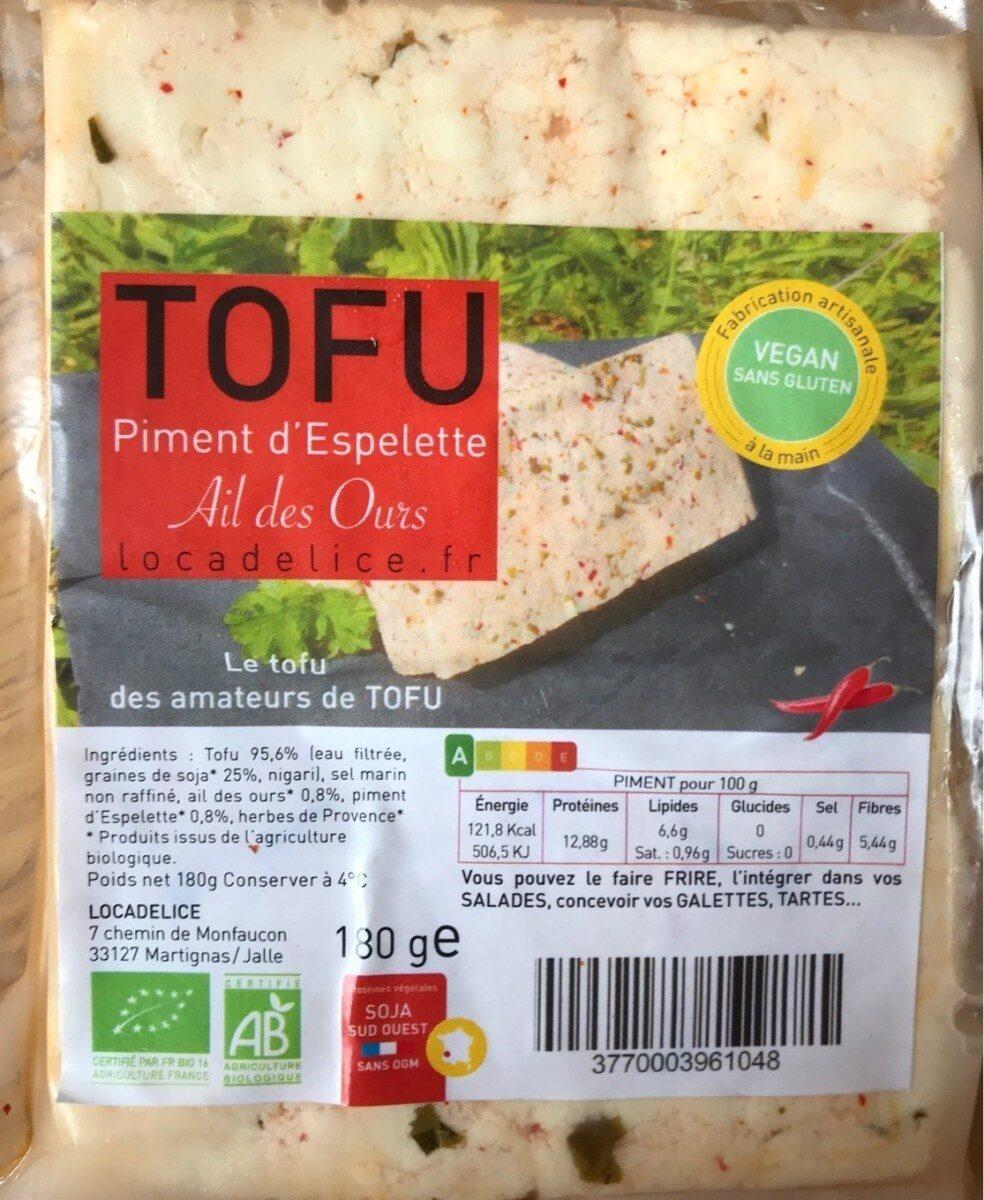 Tofu Piment d'espelette & ail des ours - Product - fr