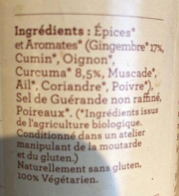 Bouillon Le Tonique - Ingrédients