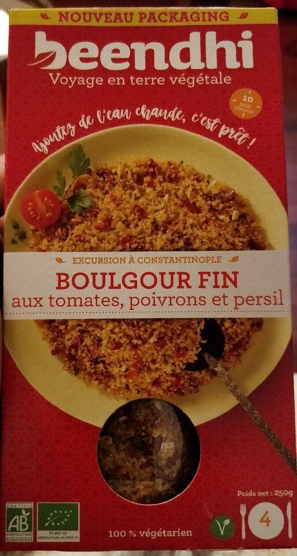 Boulgour fin - Produit