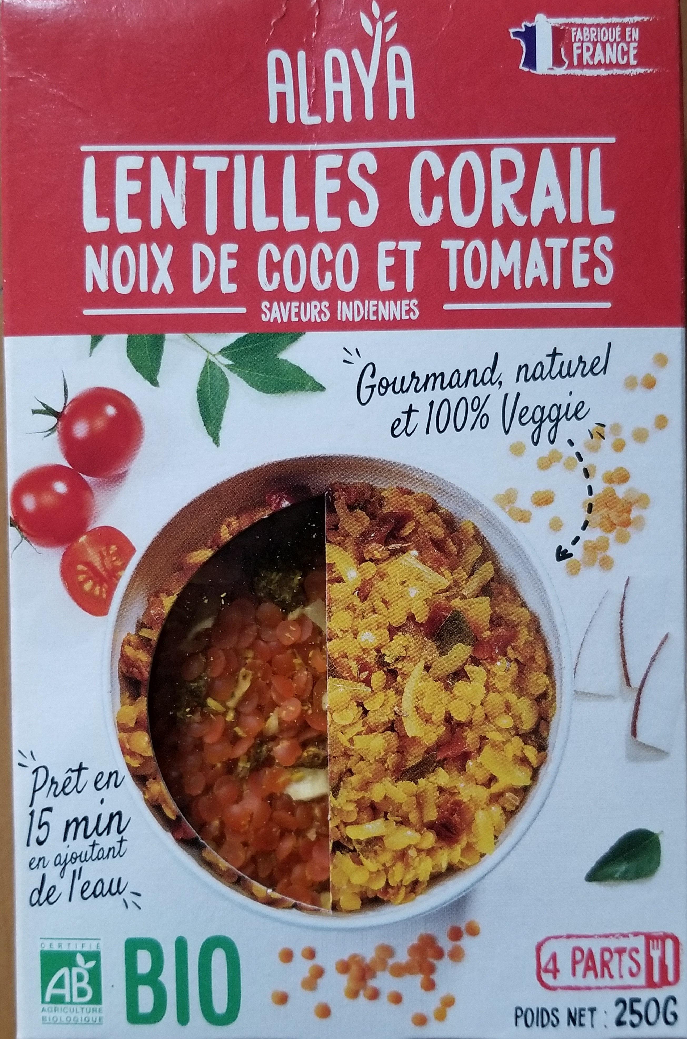 Curry de lentilles corail - Product