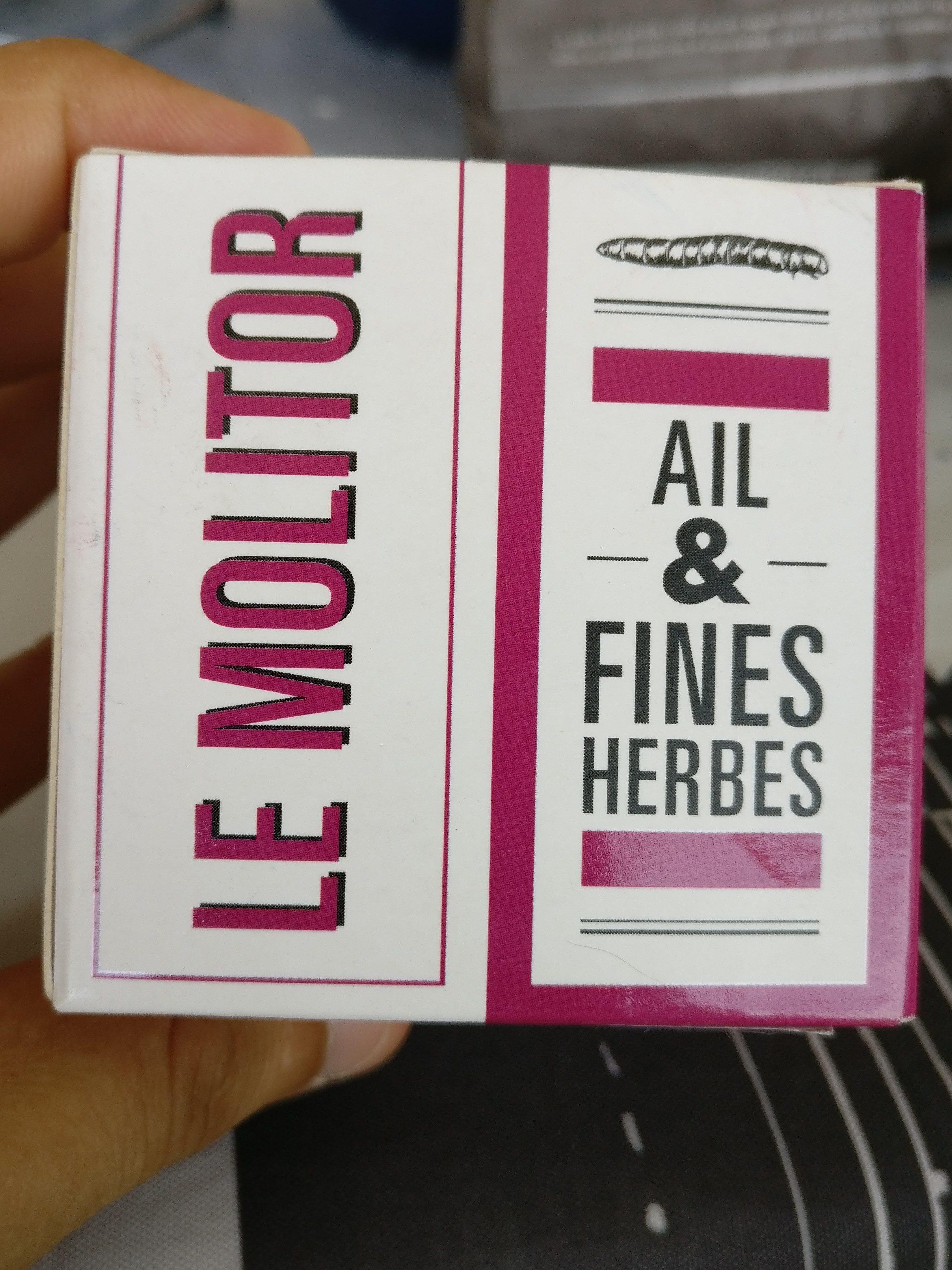 Vers Molitor Ail & Fines Herbes - Produit