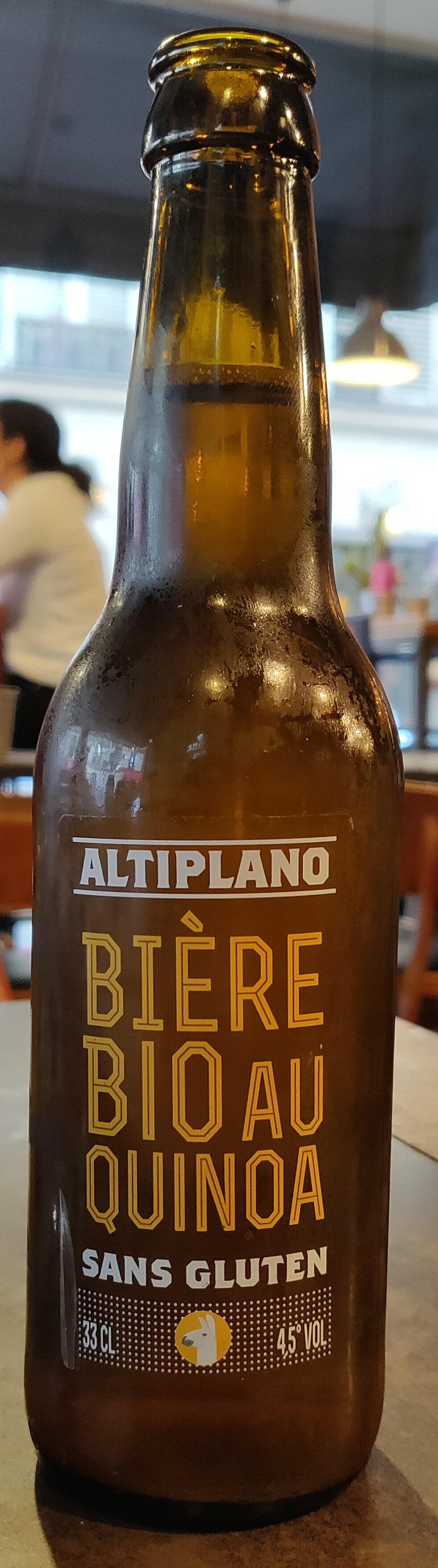 Bière bio au quinoa - Product - fr