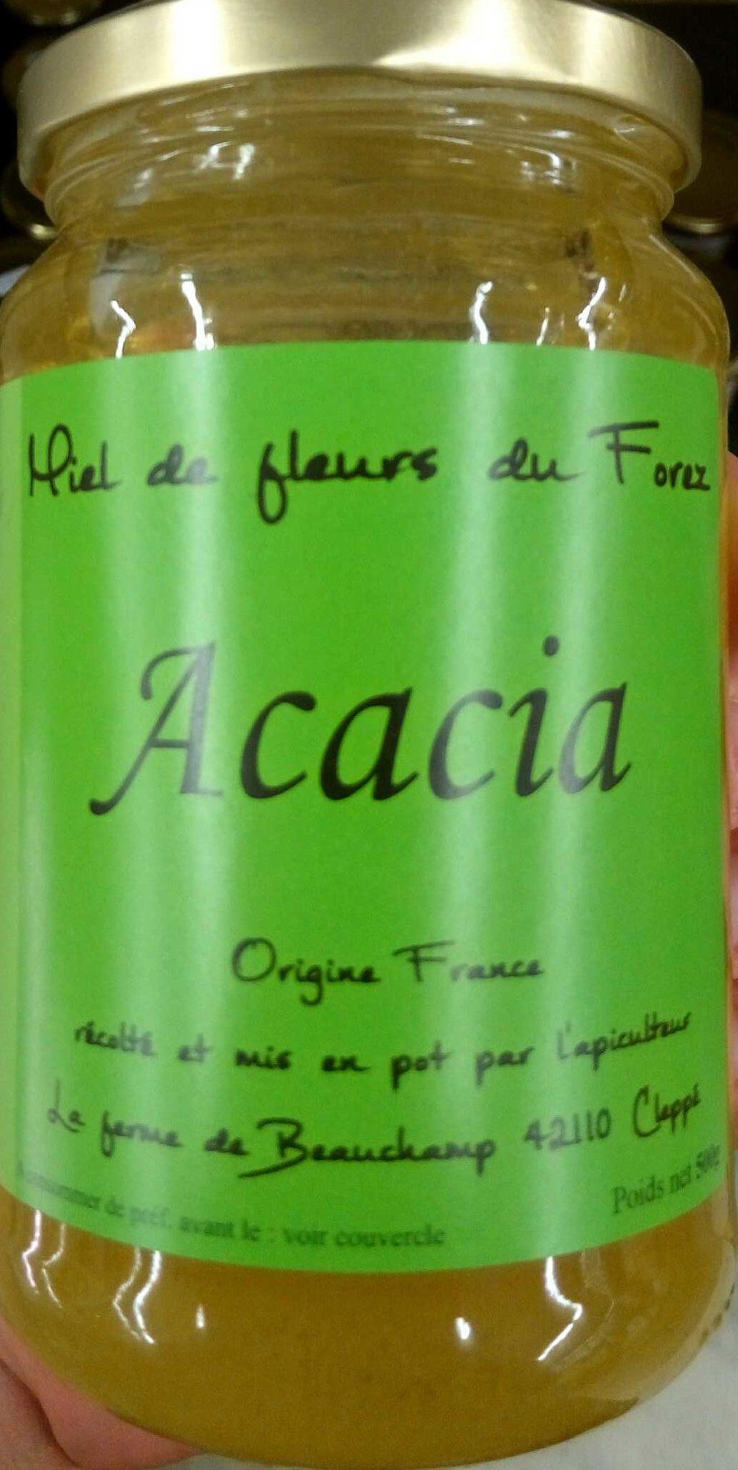 Miel de fleurs du Forez Acacia - Produit - fr
