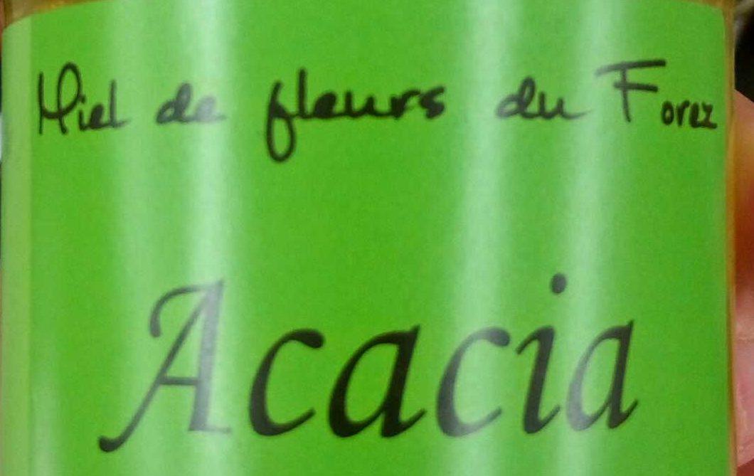 Miel de fleurs du Forez Acacia - Ingrédients - fr