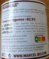 Marcel Bio soupe Provencale - Product - fr