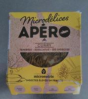 Microdélices apéro curry - Produit