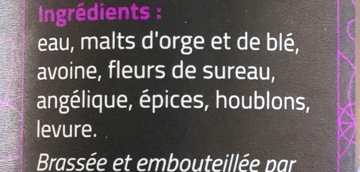 Shuc a dance - Ingrédients