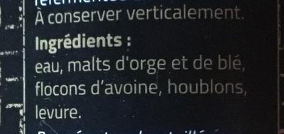 Brune - Ingredients - fr