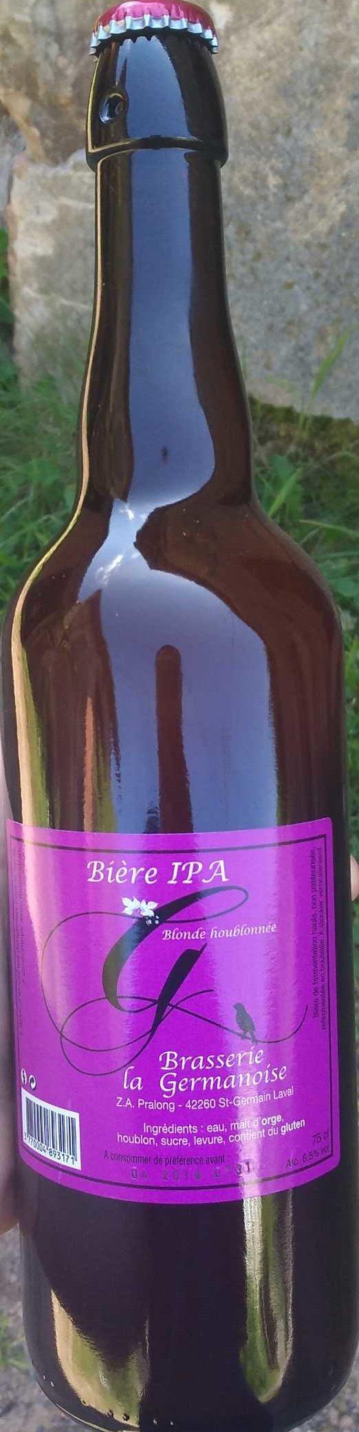 Bière IPA - Produit
