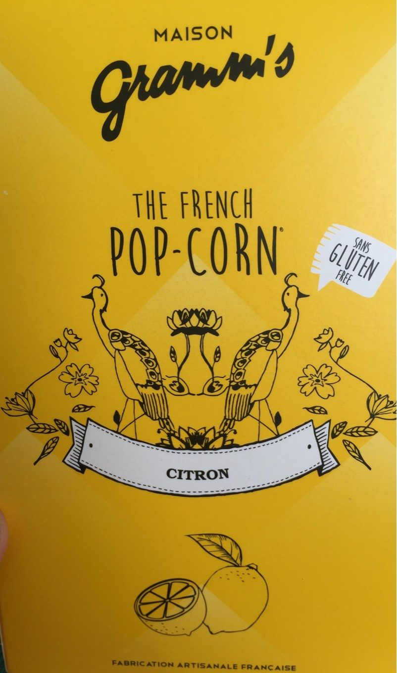 The French Pop-corn Citron - Product