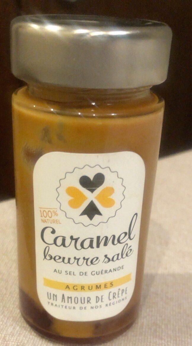Caramel Beurre salé Agrumes - Produit - fr