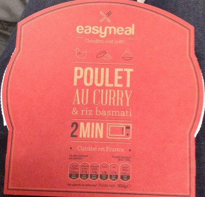 Poulet au curry & riz basmati - Product