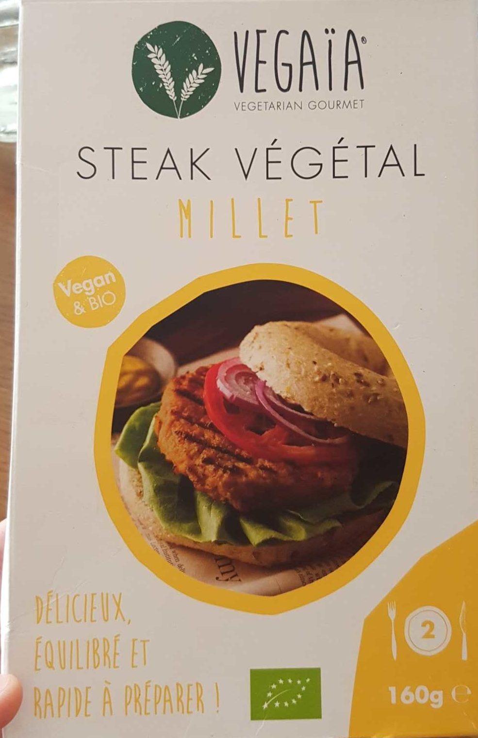 Steak Végétal Millet - Produit