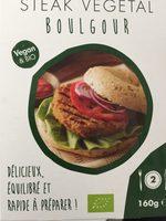 Steak vegetal boulgour - Produit