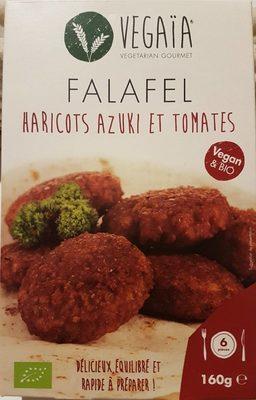 Falafel haricots azuki et tomates - Produit