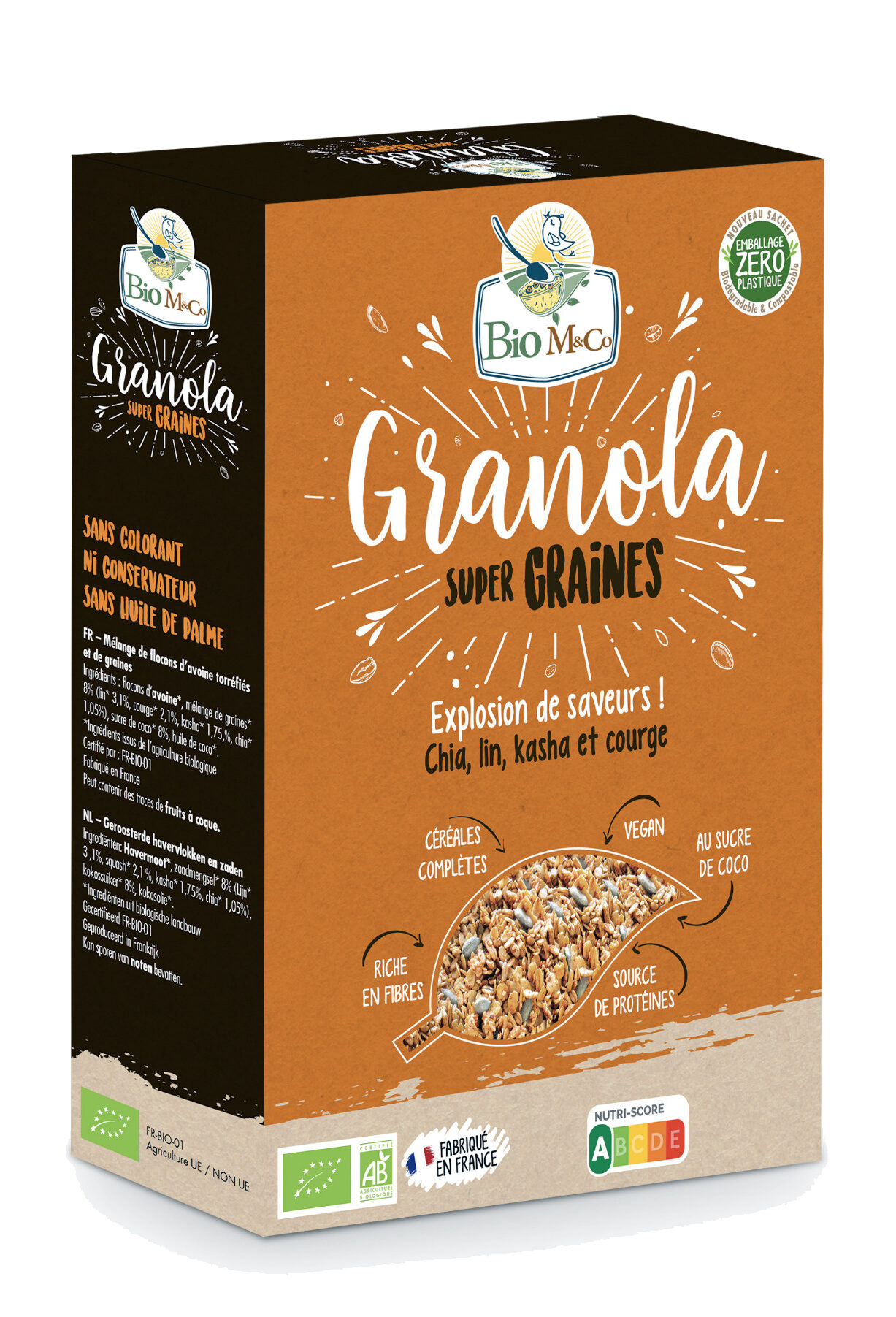 Granola Super Graines - Produit