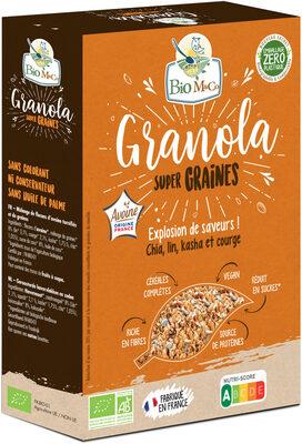 Granola Super Graines - Produit - fr