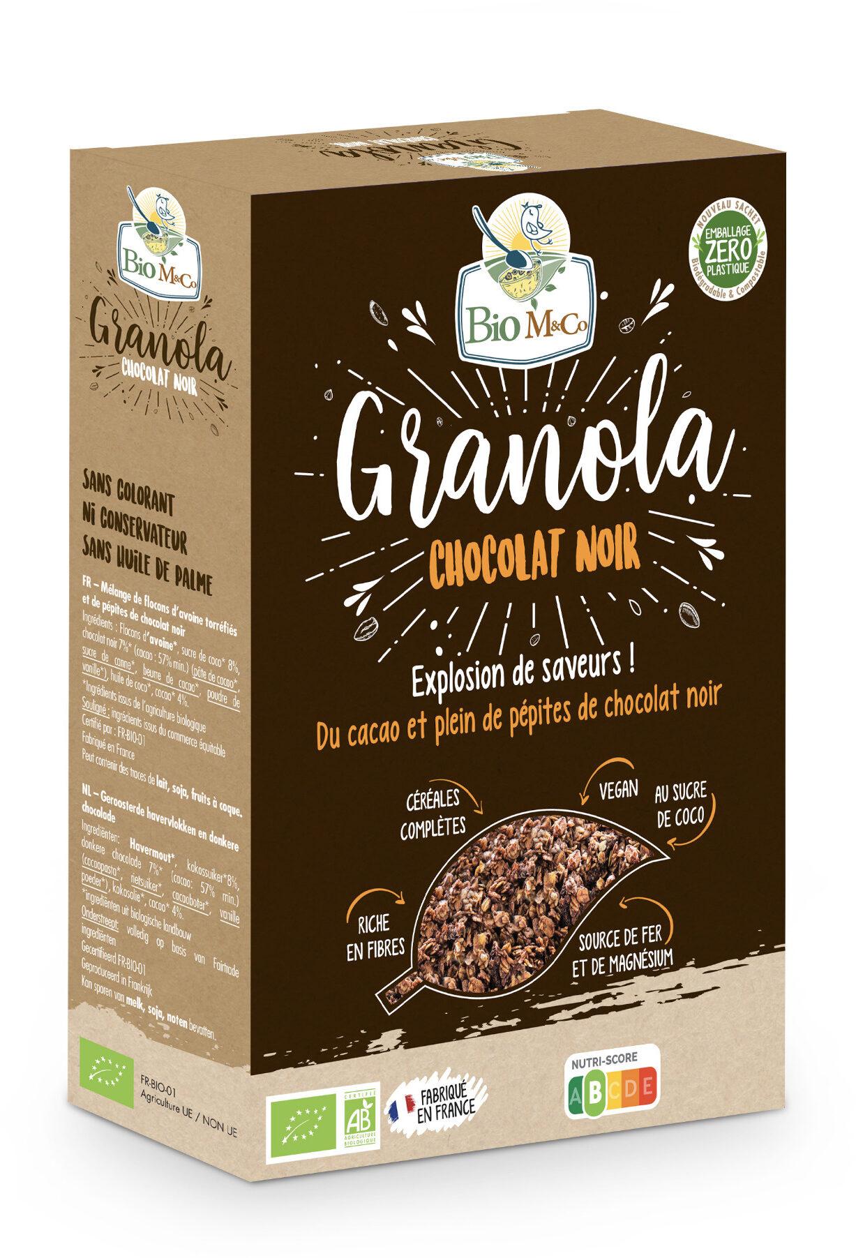 Granola Chocolat Noir - Produit