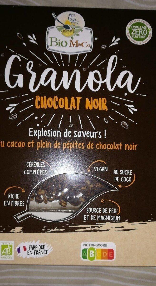 Granola chocolat noir - Produit - fr