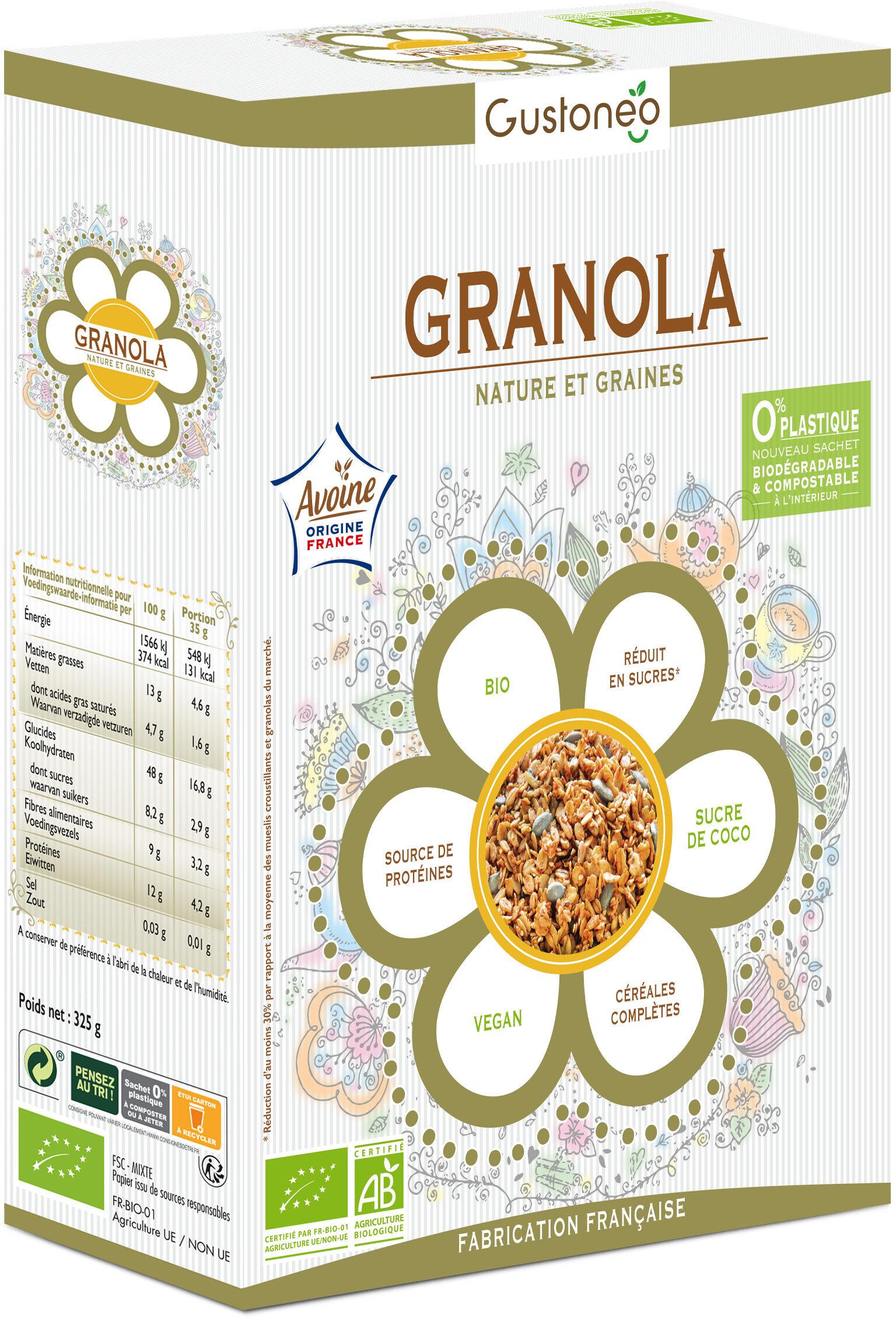 Granola Nature & Graines - Produit - fr