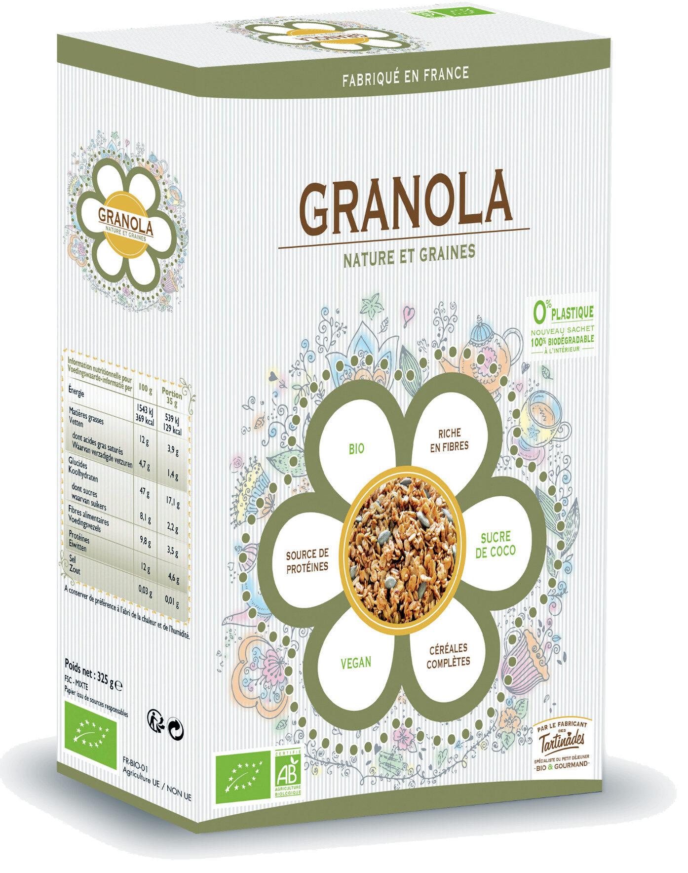 Granola Nature & Graines - Produit