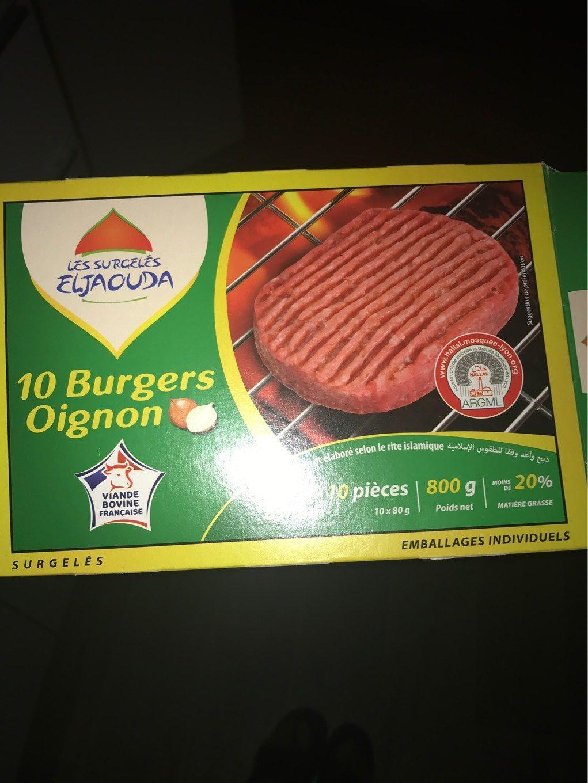 Steak a l oignon - Produit