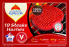 10 steaks hachés 100% pur boeuf (15% MG) - Product
