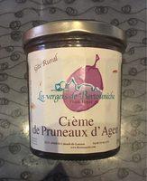 Crème de pruneaux d'Agen - Produit