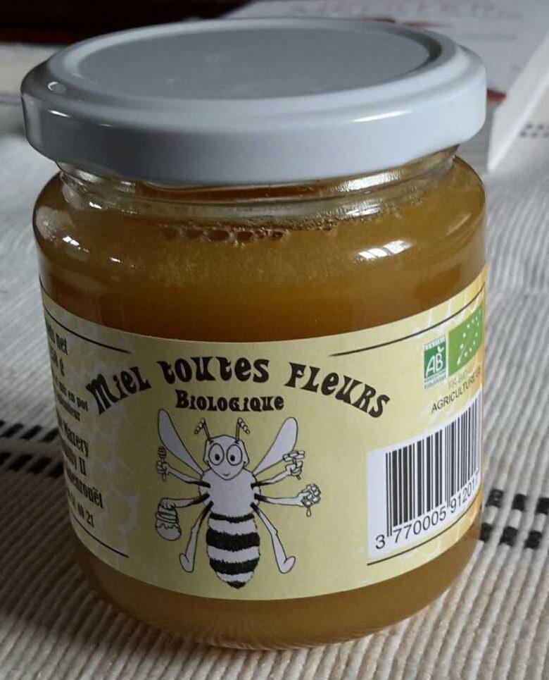 Miel Toutes Fleurs Biologique - Produit - fr