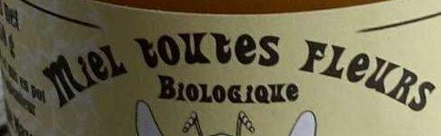 Miel Toutes Fleurs Biologique - Ingrédients - fr