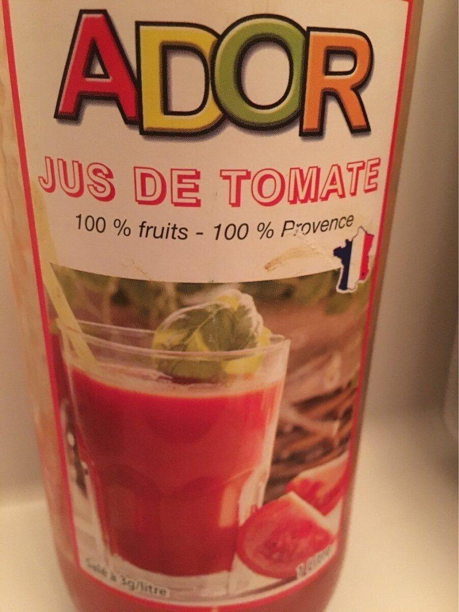 Jus de tomate - Prodotto - fr