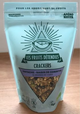 Crackers Pistache, Raisin de corinthe et graines de carvi - Product