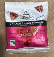 Granola Fraise-Framboise - Product