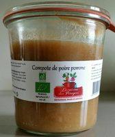 Compote de poire pomme - Product
