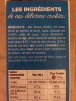 Cookies - Ingrédients