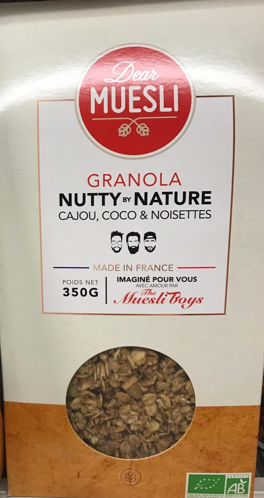 Granola Nutty by Nature - Cajou, Coco & Noisettes - Product