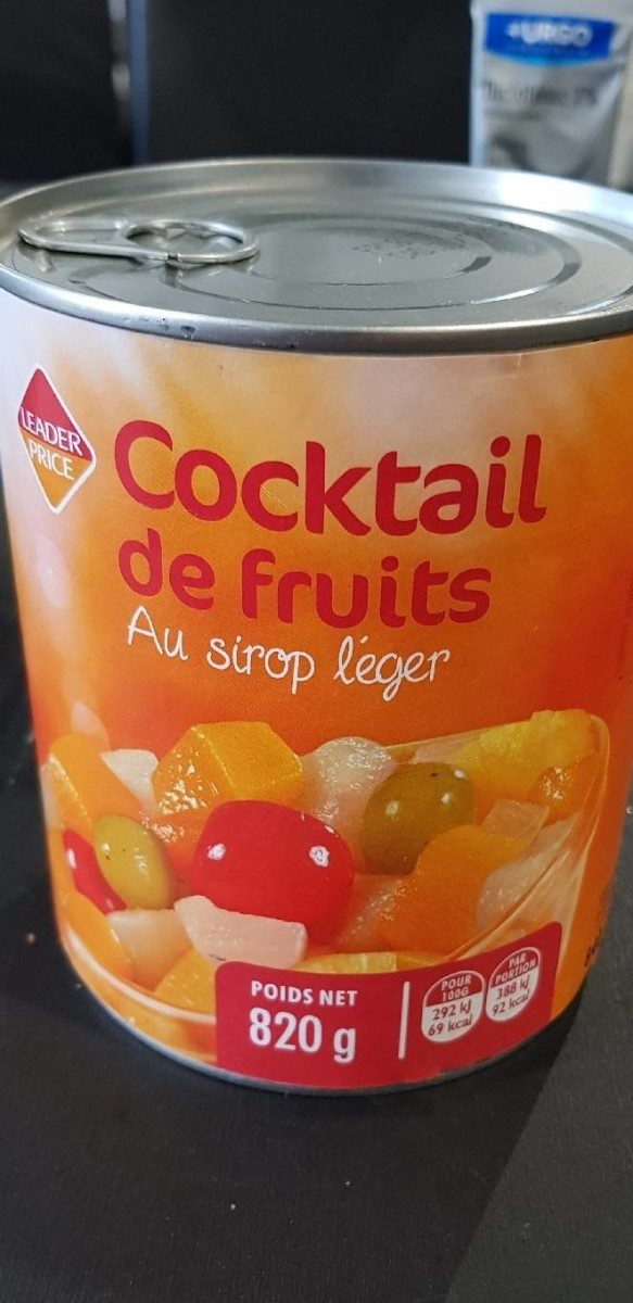 Cocktail de fruits au sirop léger - Product - fr