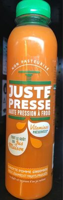 Jus Carotte Pomme Gingembre - Product - fr