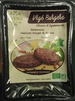 Burgers vegetaux - Product
