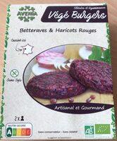 Burger Végétal Betteraves & Haricots Rouges - Product - fr