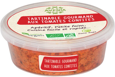 Tartinable gourmand aux tomates confites - Product - fr